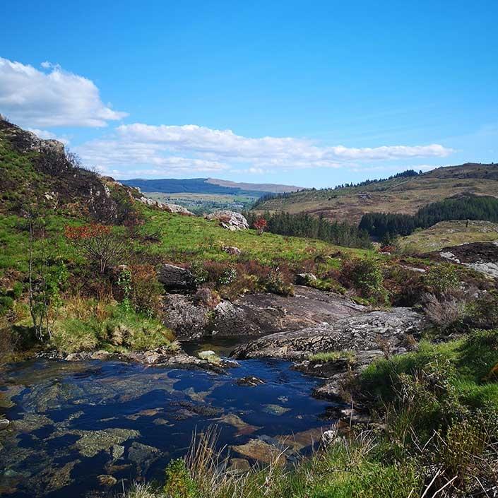 HIKE adventure river at Mynydd 1