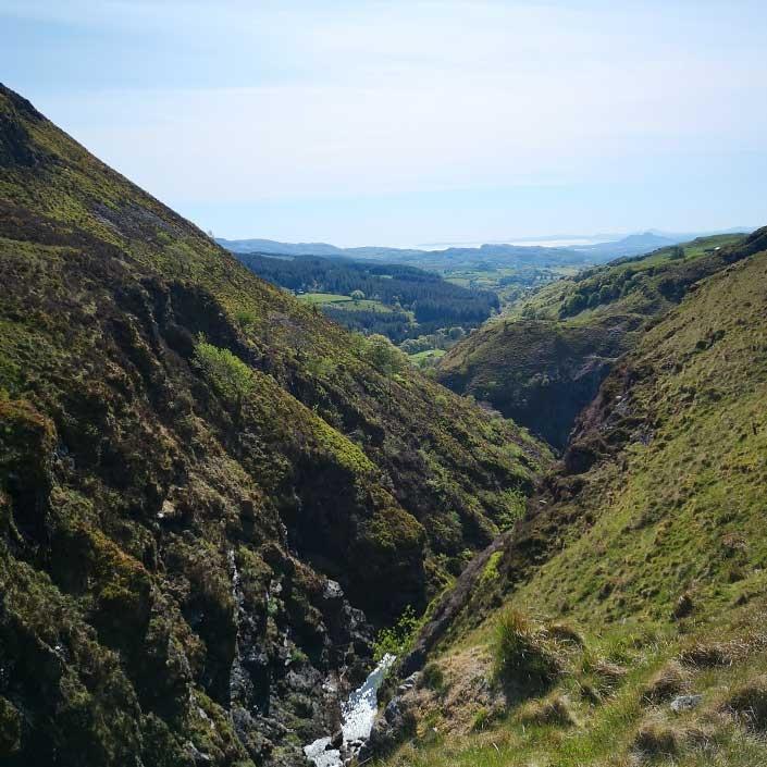 HIKE adventure valley at Mynydd 1